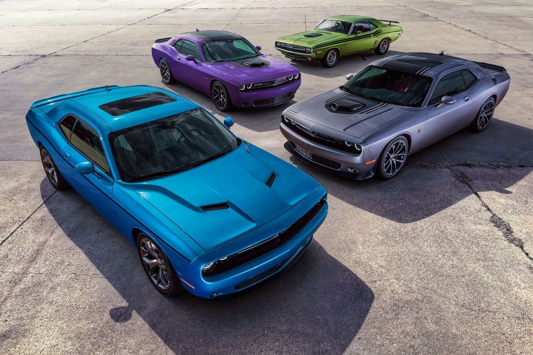 2016 Dodge Challenger Charger Plum Crazy Limited Edition Supercar Muscle USA -03 wallpaper