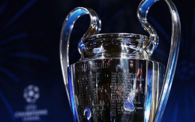 copa europa trofeo metal wallpaper