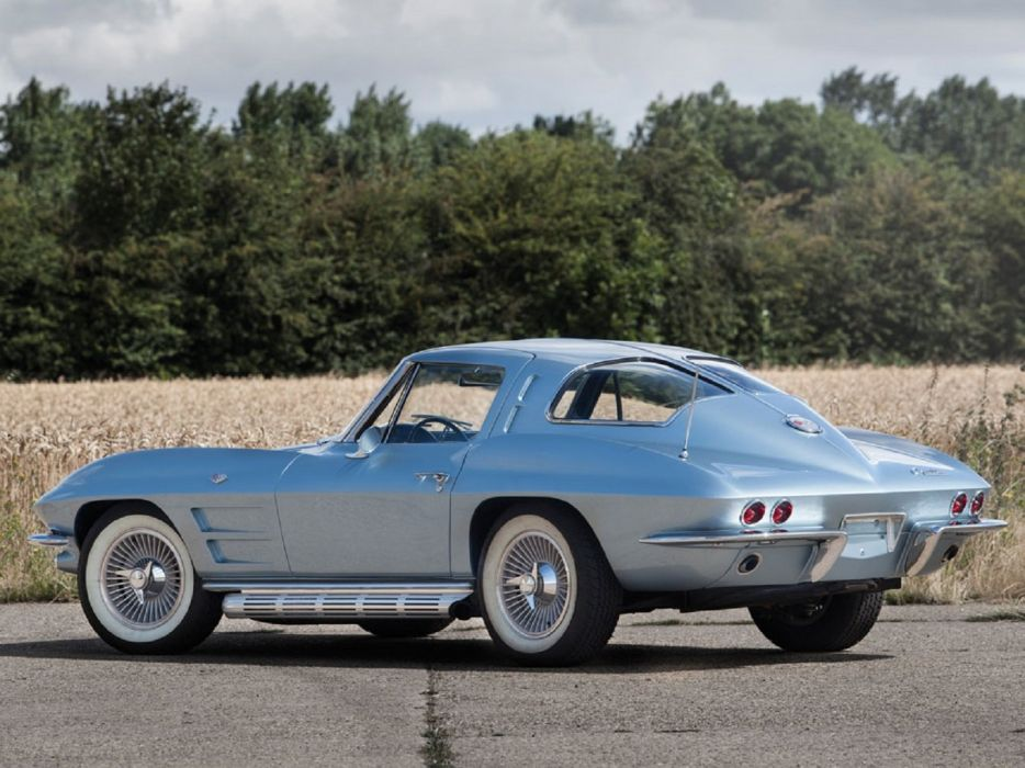1963 Chevrolet Corvette Sting Ray Split-Window Coupe cars classic wallpaper