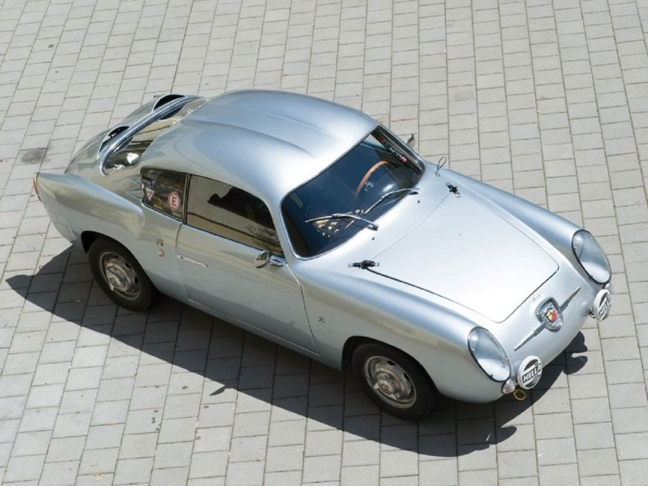 1958 Fiat-Abarth 750-GT Dubble Bubble Zagato cars classic wallpaper