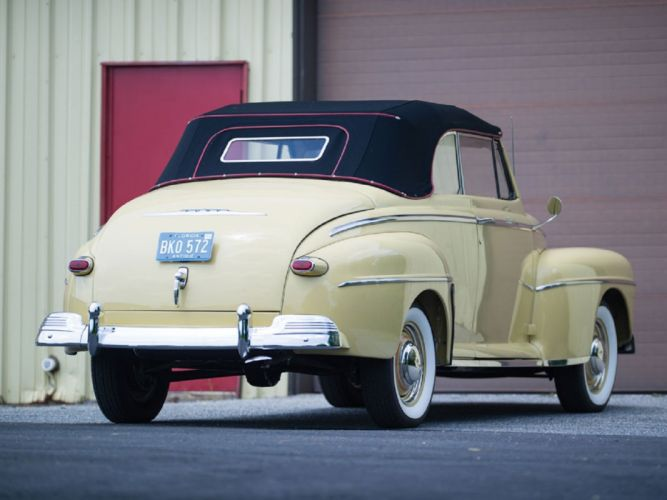 1948 Ford Super DeLuxe Convertible cars classic wallpaper