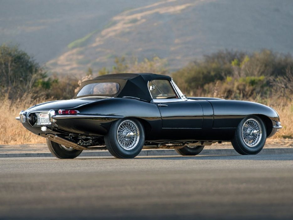 1961 Jaguar E-Type Series-1 Roadster cars classic wallpaper