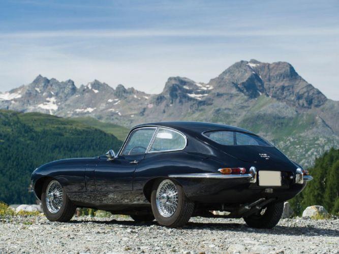 1966 Jaguar E-Type Series-1 Fixed Head Coupe cars classic wallpaper