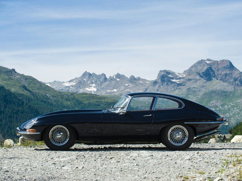 1966 Jaguar E-Type Series-1 Fixed Head Coupe cars classic wallpaper