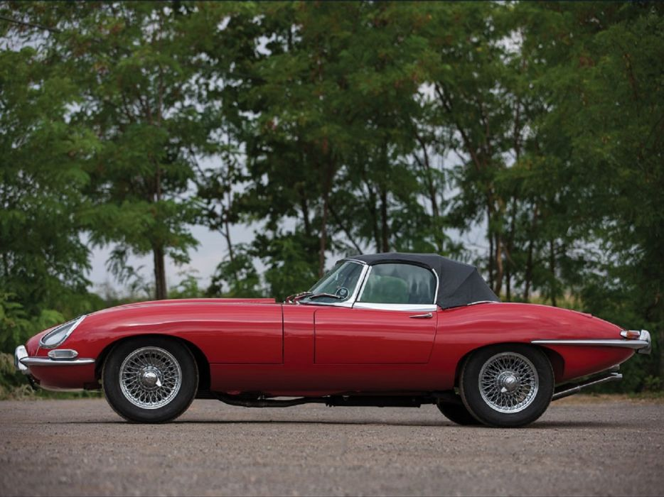 1966 Jaguar E-Type Series-1 Roadster cars classic wallpaper