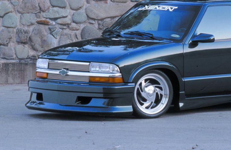 CHEVROLET BLAZER suv 4x4 truck custom tuning lowrider hot rod rods wallpaper