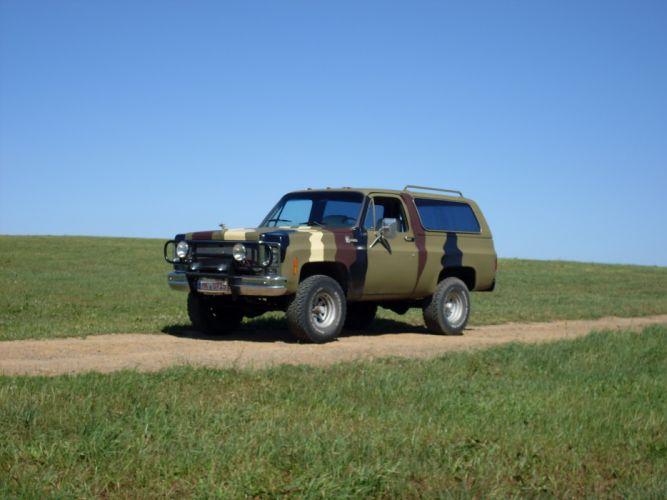 CHEVROLET BLAZER suv 4x4 truck wallpaper