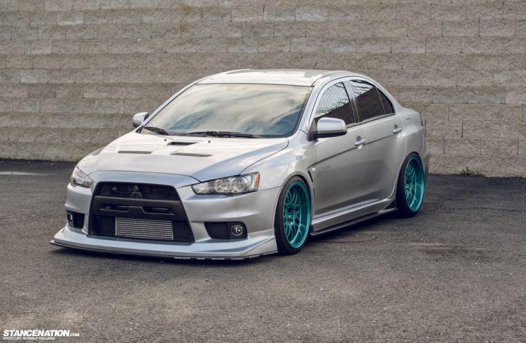 Mitsubishi Evolution tuning custom wallpaper