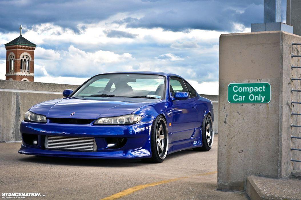 2001 Nissan Silvia tuning custom wallpaper