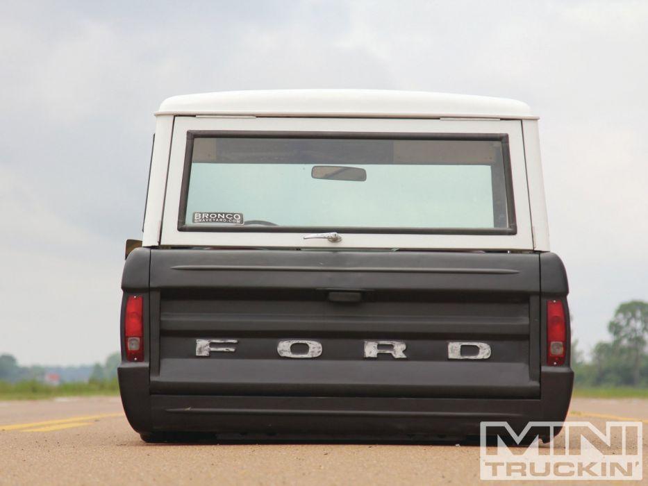 FORD BRONCO suv 4x4 truck lowrider custom wallpaper