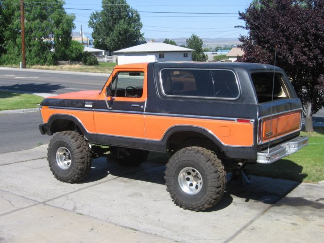 FORD BRONCO suv 4x4 truck wallpaper