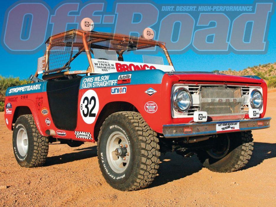FORD BRONCO suv 4x4 truck wallpaper