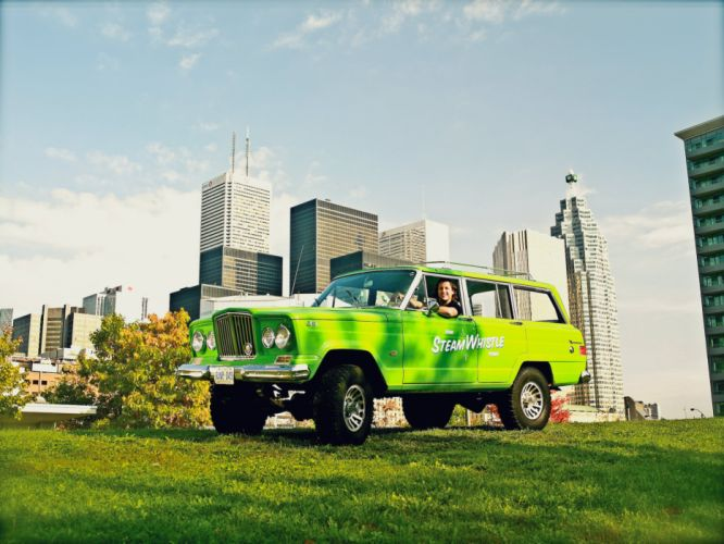 JEEP WAGONEER 4x4 suv stationwagon truck wallpaper