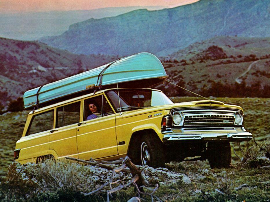 JEEP WAGONEER 4x4 suv stationwagon truck wallpaper