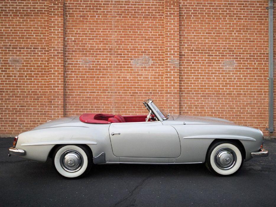 1960 Mercedes-Benz 190-SL classic cars wallpaper