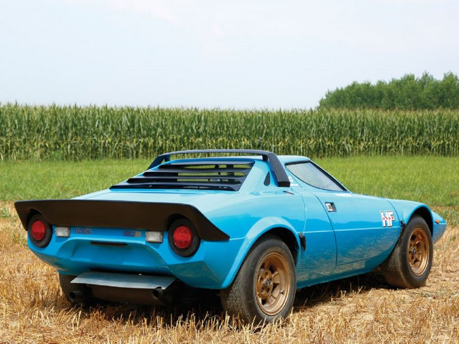 1975 Lancia Stratos-HF Stradale cars classic wallpaper