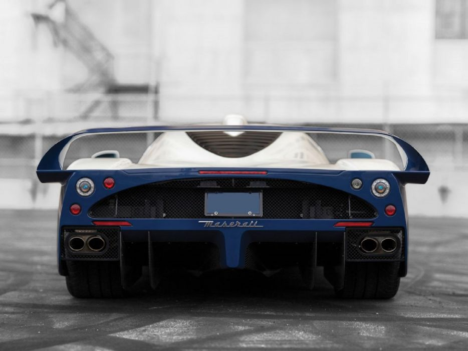 2005 Maserati MC12 cars supercars wallpaper