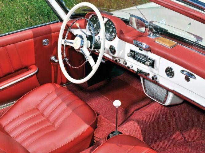 1961 Mercedes-Benz 190-SL cars classic wallpaper