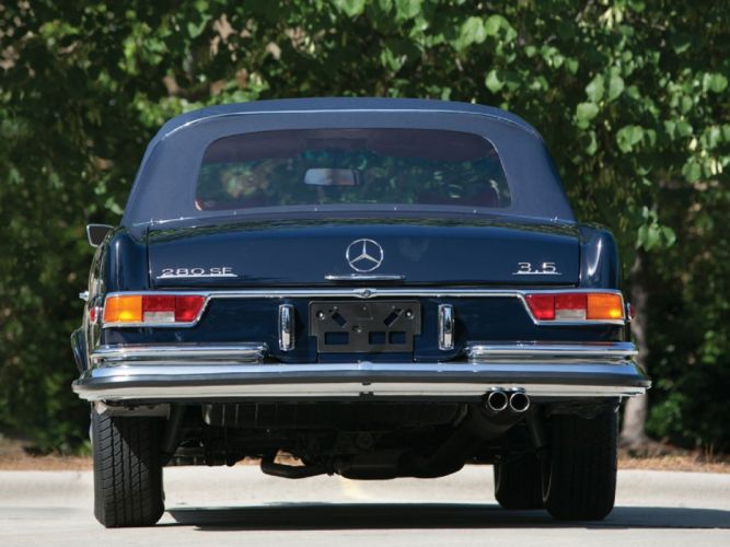 1971 Mercedes-Benz 280-SE Cabriolet cars classic wallpaper