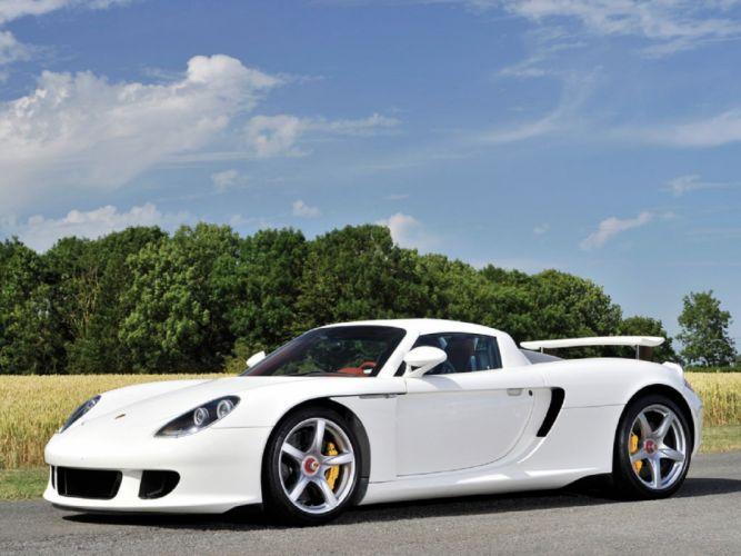 2006 Porsche Carrera-GT cars supercars wallpaper