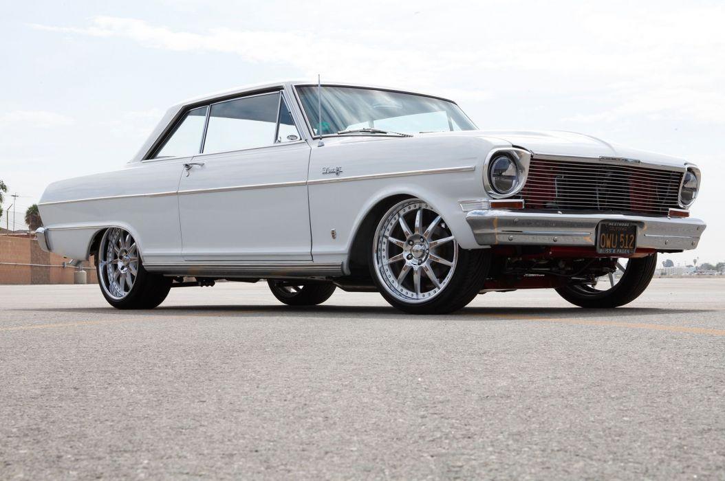 1964 Chevrolet Chevy Nova Street Rodder Super Pro Touring USA -01 wallpaper