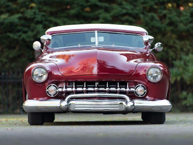 1949 Mercury Convertible Custom Dick Dean cars classic wallpaper