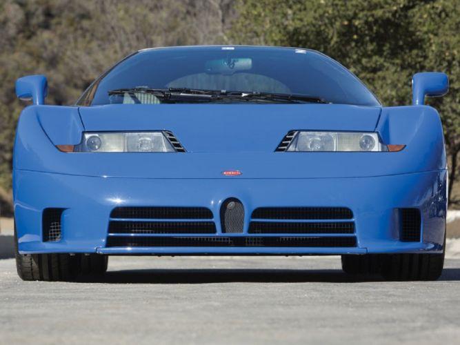 1993 Bugatti cars eb110-gt supercars cars wallpaper