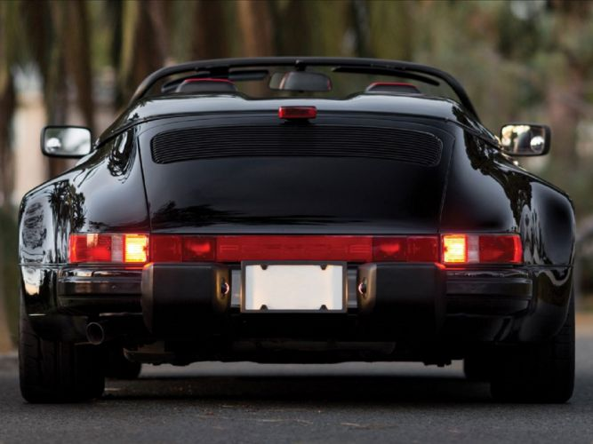 1989 911 Germeny Porsche speedster cars wallpaper