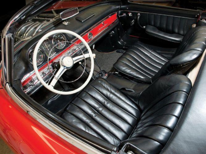 1957 Mercedes-Benz 300-SL Roadster cars classic wallpaper
