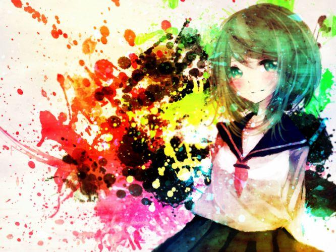 Vocaloid Gumi wallpaper