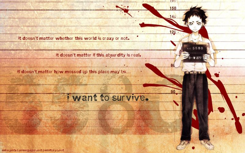 Deadman Wonderland Ganta Igarashi wallpaper