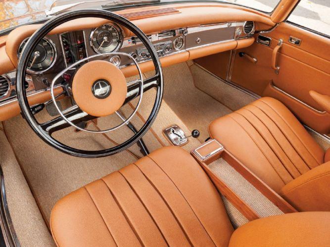 1970 Mercedes-Benz 280-SL Pagoda cars classic wallpaper
