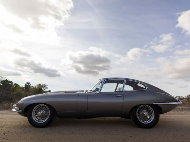 1964 Jaguar E-Type Series-1 Fixed Head Coupe cars classic wallpaper