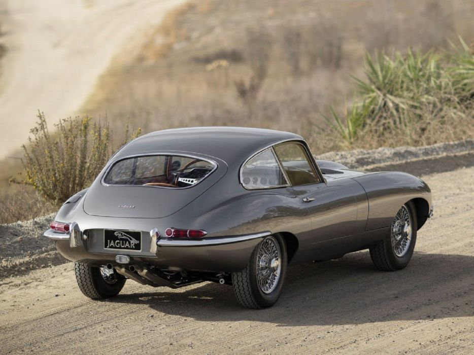 1964 Jaguar E-Type Series-1 Fixed Head Coupe cars classic wallpaper