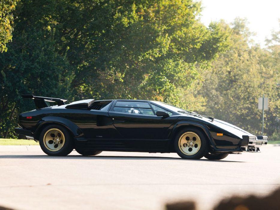 1988 Lamborghini Countach 5000-QV cars classic wallpaper