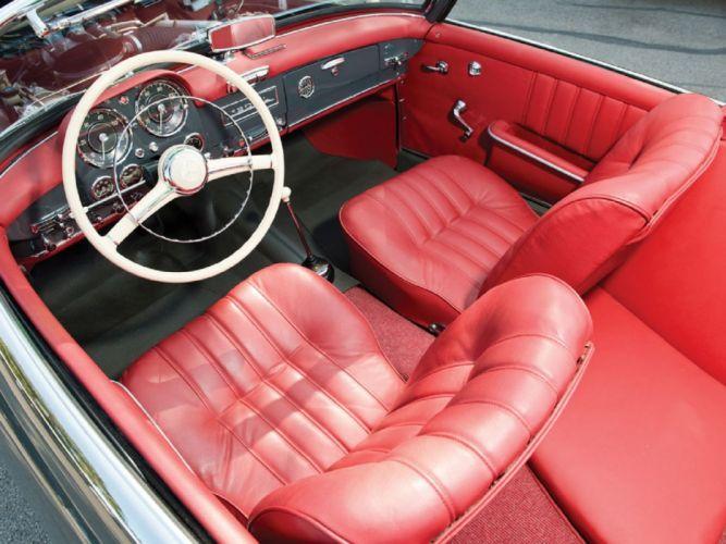 1961 Mercedes-Benz 190-SL Roadster cars classic wallpaper