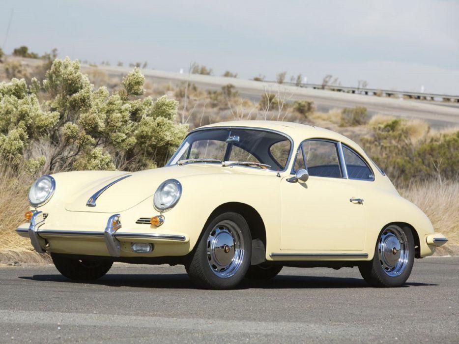 1964 Porsche 356-C 1600-SC Sunroof Coupe classic cars wallpaper