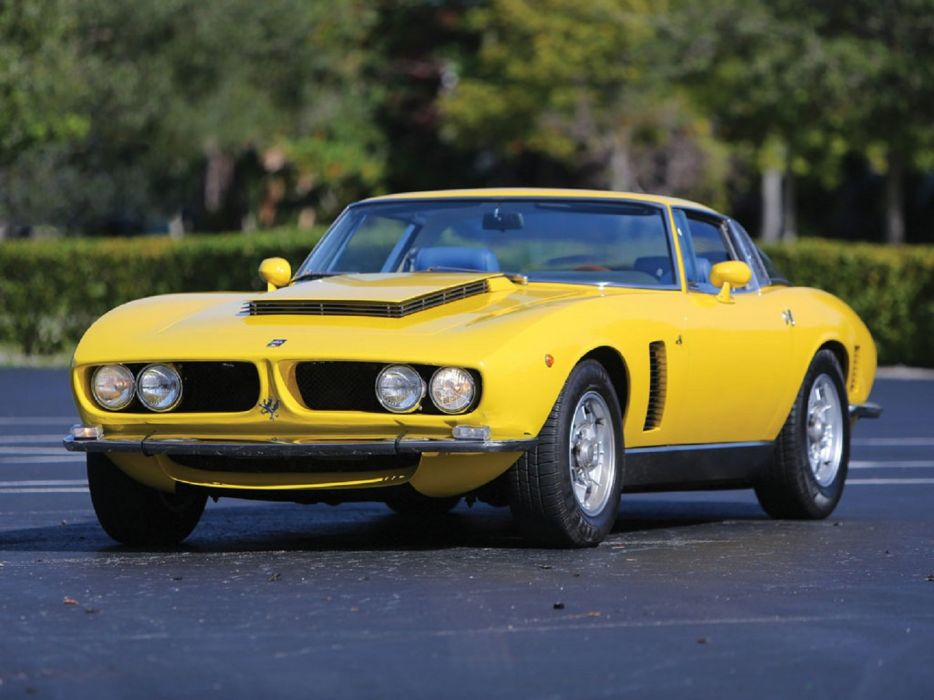1968 Iso Grifo Series-I coupe cars classic wallpaper