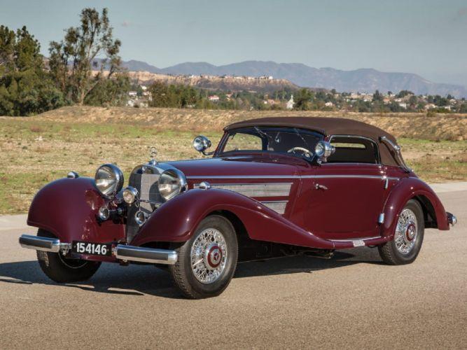 1937 Mercedes-Benz 540-K Sport Cabriolet-A classic cars wallpaper