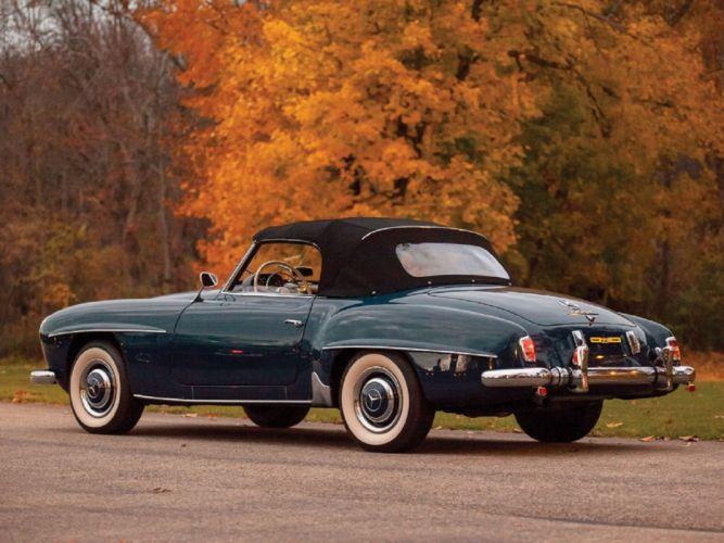 1956 Mercedes-Benz 190-SL Roadster classic cars wallpaper
