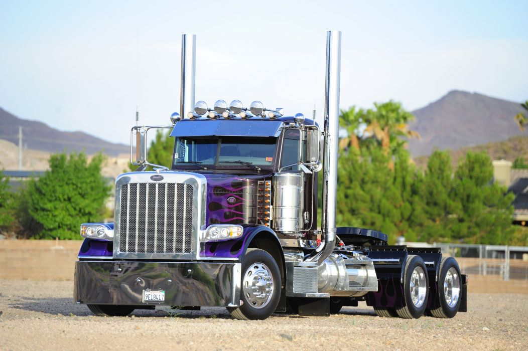 PETERBILT semi tractor transport truck wallpaper