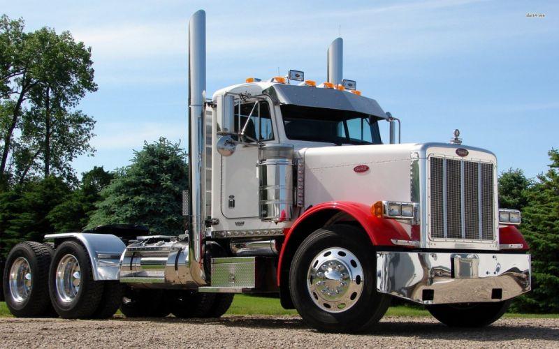 PETERBILT semi tractor transport truck wallpaper
