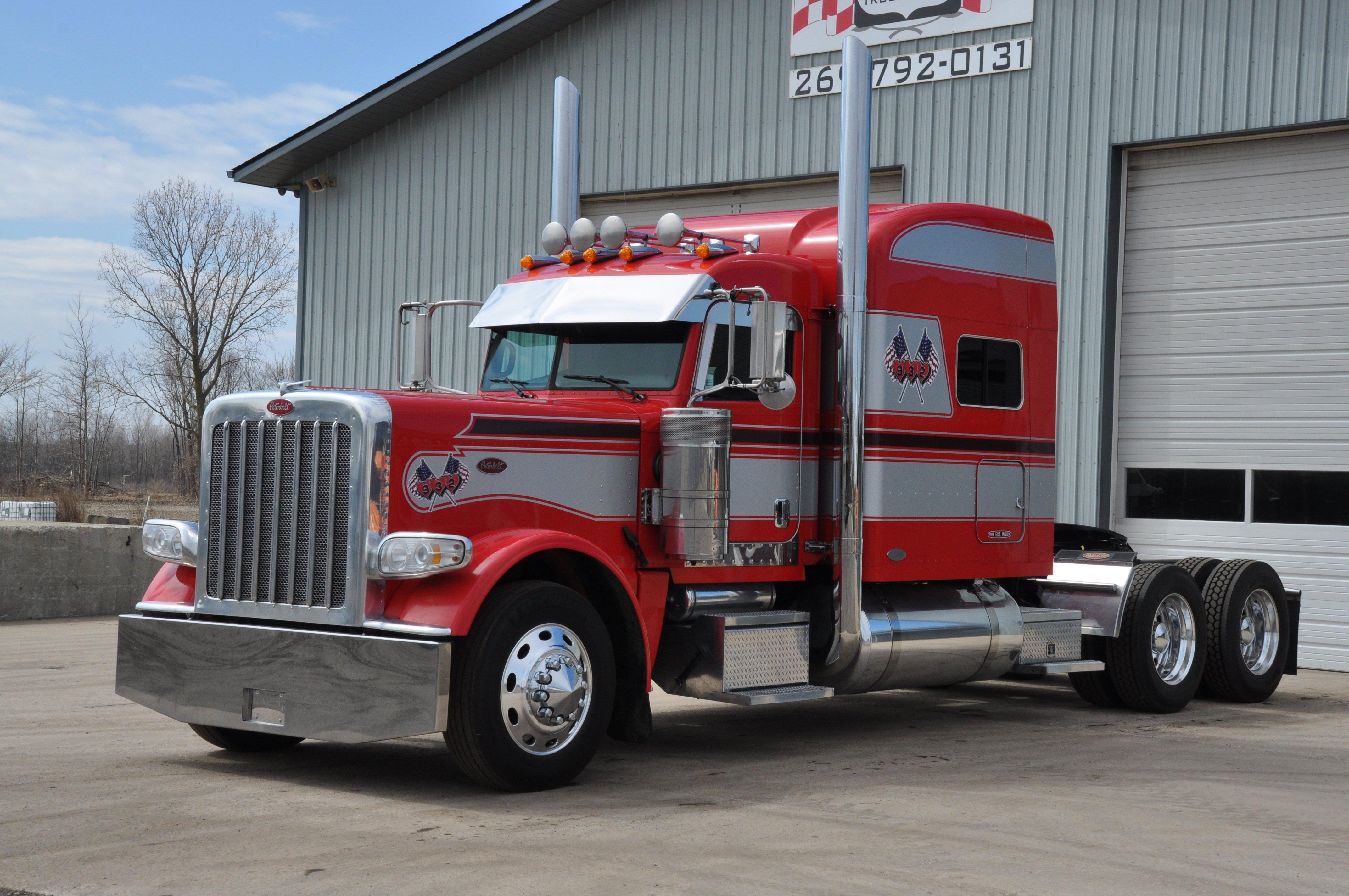 PETERBILT semi tractor transport truck wallpaper ...