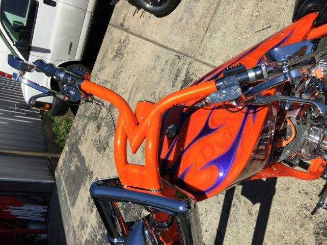 chopper custom bike motorbike motorcycle wallpaper