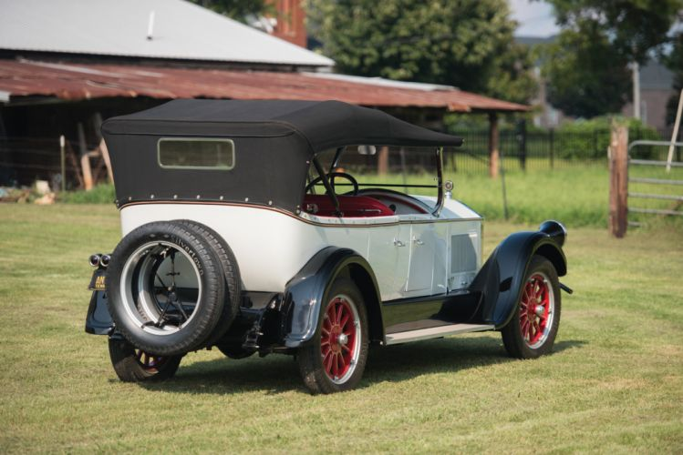 1925 Pierce Arrow Model-80 Touring retro vintage wallpaper