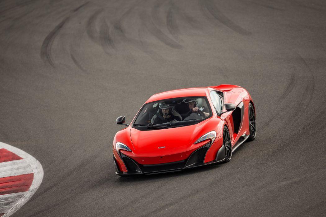 2016 McLaren 675LT US-spec supercar wallpaper