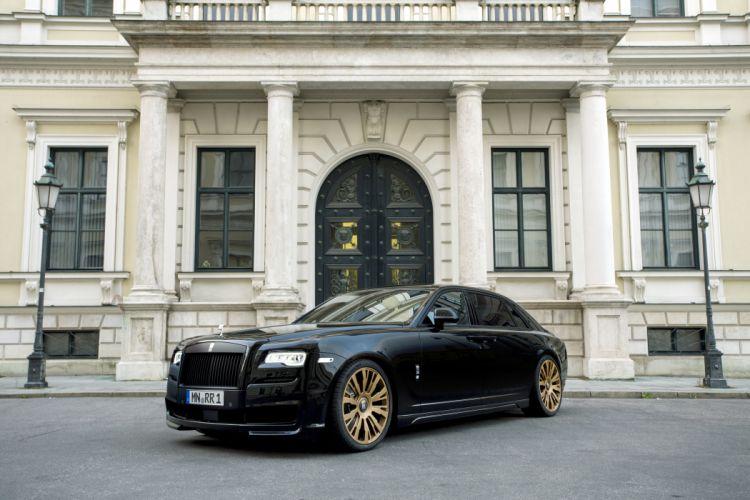 2015 Spofec Black One rolls royce luxury tuning wallpaper