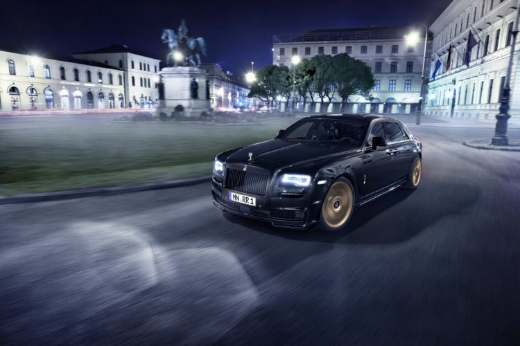 2015 Spofec Black One rolls royce luxury tuning wallpaper