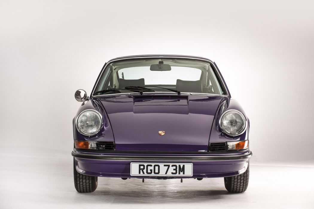 1972 Porsche 911 S24 Coupe UK-spec classic 1973 wallpaper