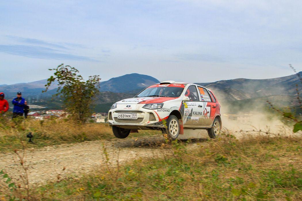 2014 Lada Kalina RC offroad rally race racing wallpaper